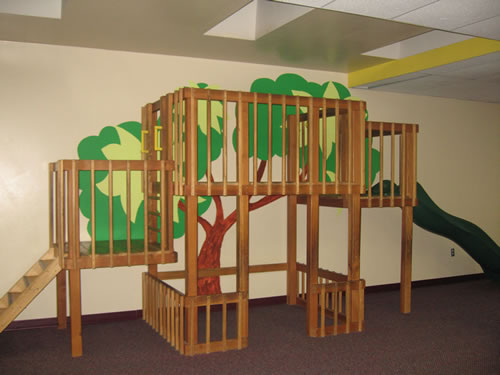 Kids gym at Educare Preschool