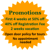 Enrollment promotions